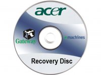 Acer / Gateway / eMachines recovery disc set (factory software)