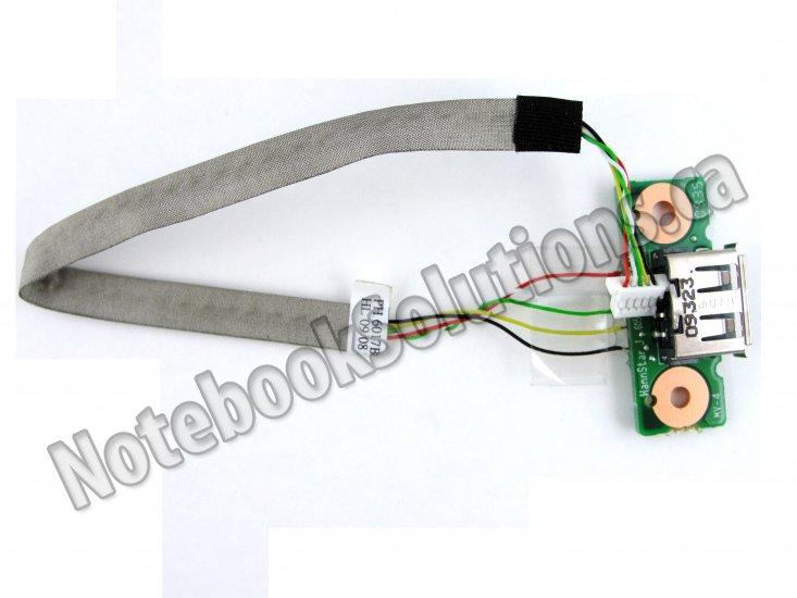 Toshiba Satellite L350 L350D L355 USB Board with Cable V000140790
