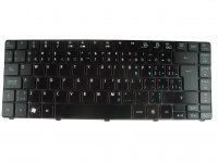 Acer original keyboard (US English / French, glossy black) - AC27195