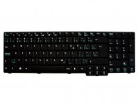 Acer original keyboard (US English / French, black) - AC28535