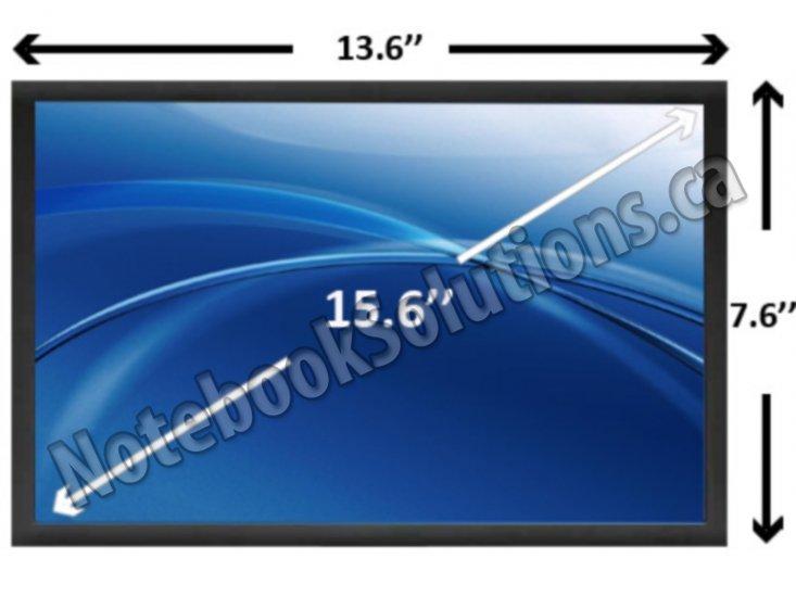 Gateway NV59C63U Laptop LCD Screen Replacement 15.6 WXGA HD LED