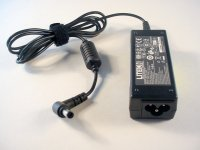Acer original AC adapter (30W, black tip, Lite-On) - AC25372
