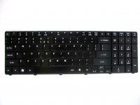 Acer original keyboard (US English, glossy black) - AC27622