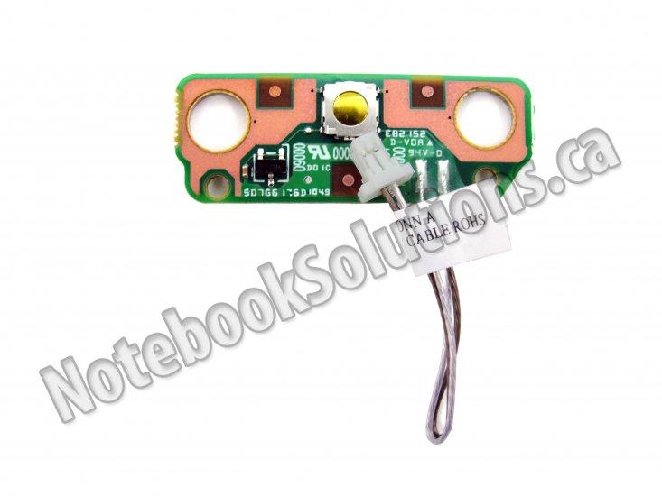 Toshiba Satellite C650 C655 C650D C655D L650 L650D Power Button Board V000210850